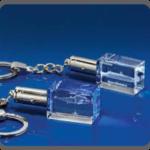 Branded Crystal Keyring