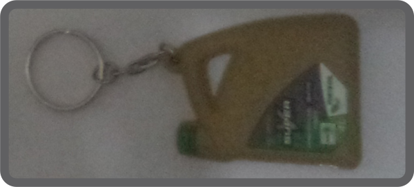 Customized keyring