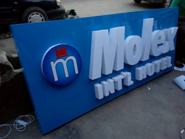 3D wall signs in lagos