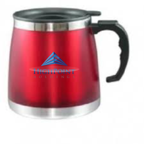 Branded Steel Plastic Mug