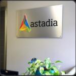 Company logo signs