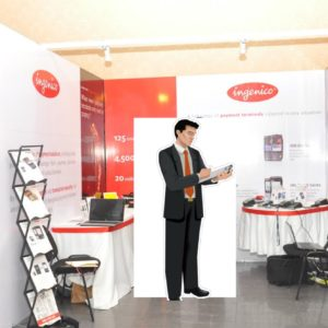 Conference booth branding in Lagos