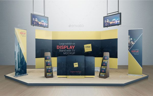 Design samples of Exhibition stands