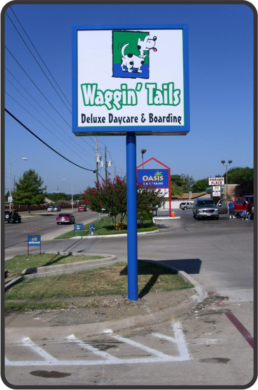 Outdoor Composite signs