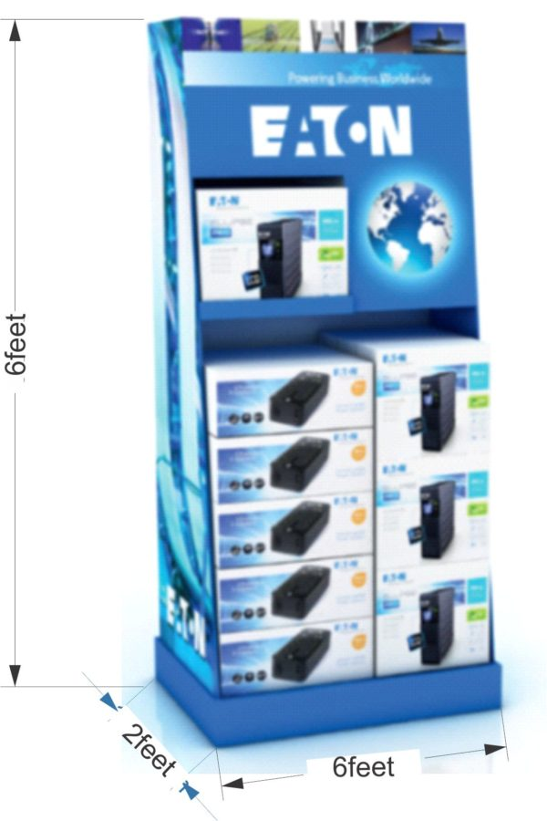 POS counter display system