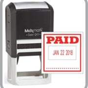 Paid stamp maker