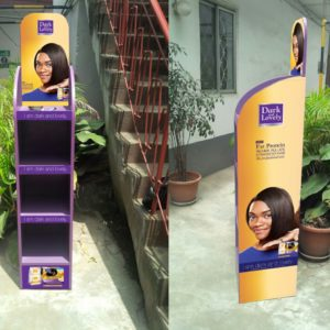 Point of sales display branding in Lagos