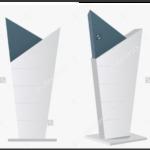 Pylon signage mockup design