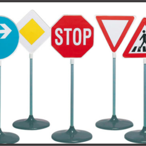 Road n directional signs