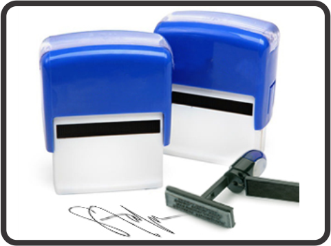 Self-ink stamps maker in Lagos