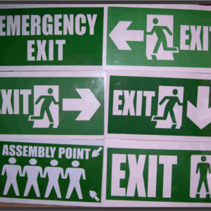directional signs in Lagos Nigeria