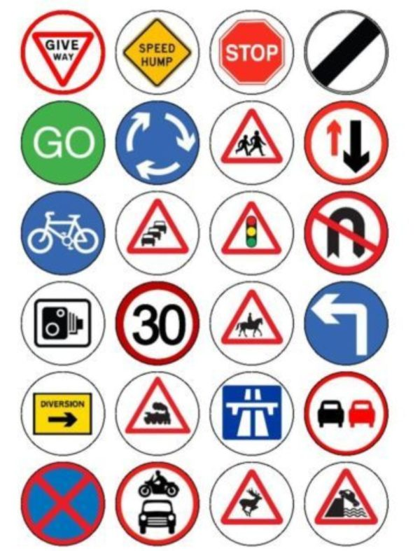 road signs in Lagos