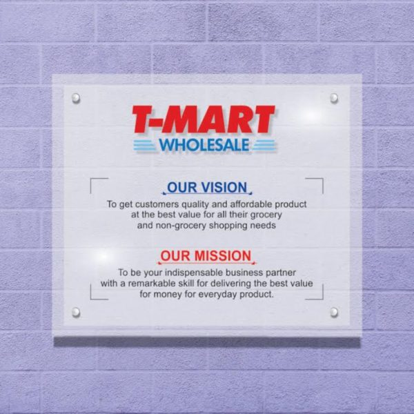 vision and mission statement signs
