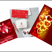 Birthday and Holiday Cards design and printing
