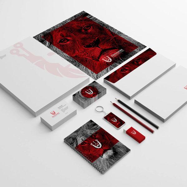 Brand identity design company in Lagos