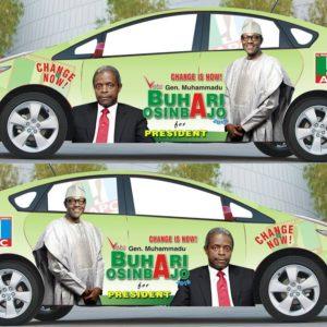 Car branding company in Lagos