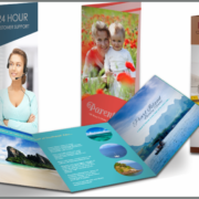 Premium Bifold & Trifold Brochures Design and Printing
