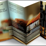 Tri-fold brochure printing and design