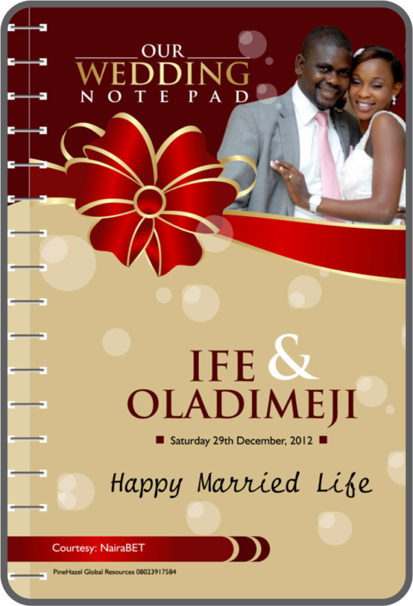 Wedding souvenirs in Lagos