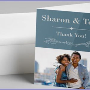hank you card printing in Lagos