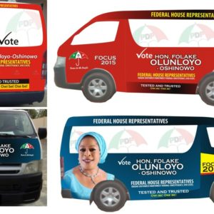 vehicle branding in Lagos