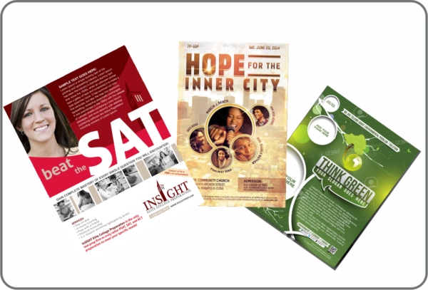 Paper and Banner Posters Designs and Printing