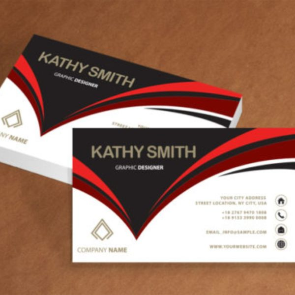One sided business card lasprint nigeria business card printing in lagos reheart Images