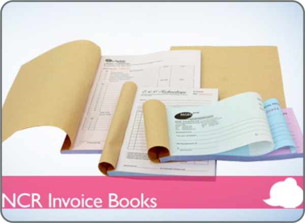 Carbonless Invoice & Receipt NCR Booklet Printing