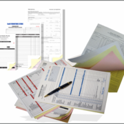 Carbonless NCR forms design and printing