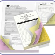 Carbonless NCR forms printing in Lagos