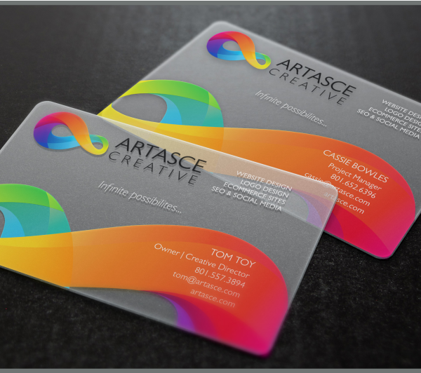 Plastic business cards lasprint nigeria clear plastc business card printing reheart Choice Image