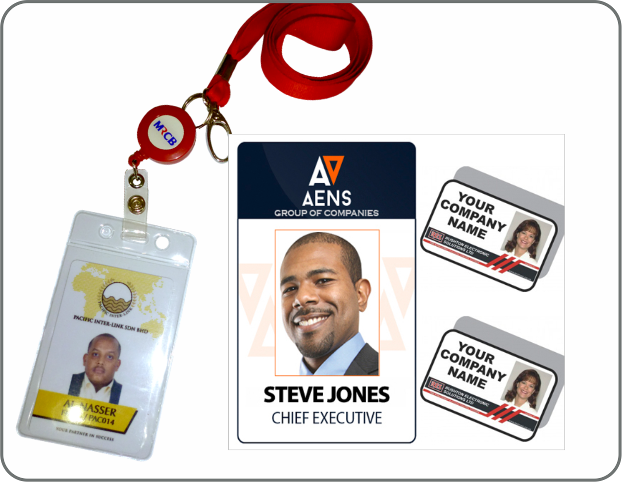Company ID Cards And Lanyards