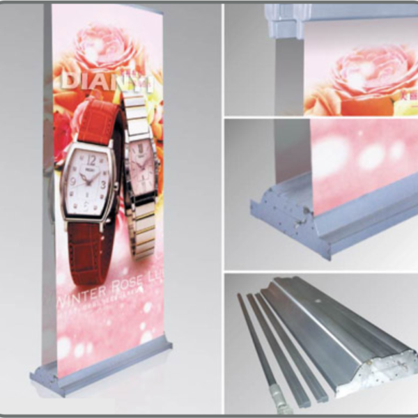 Double Sided deluxe roll up banner Printing