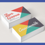 Double Sides Business Cards