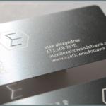 print metal business card in Lagos