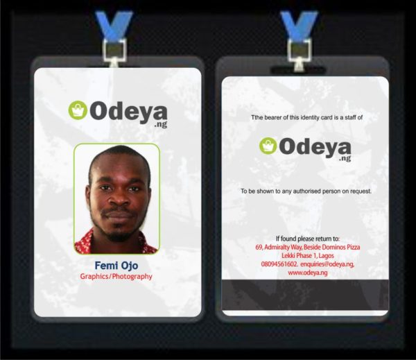 ID card printing in Lagos