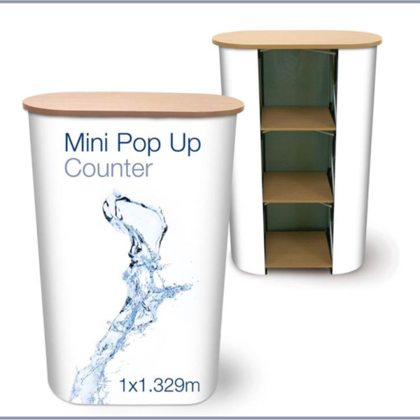 Pop up table Display and Stand