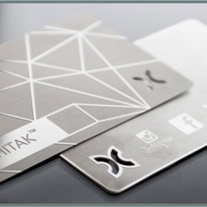 print metal business card in Lagos