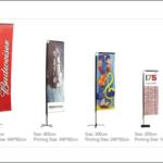 Rectangular Tear drop n Flying Banner Design and printing Lagos
