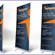 Roll up banners in Lagos