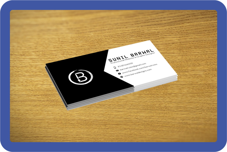 One-sided Business card - Lasprint Nigeria