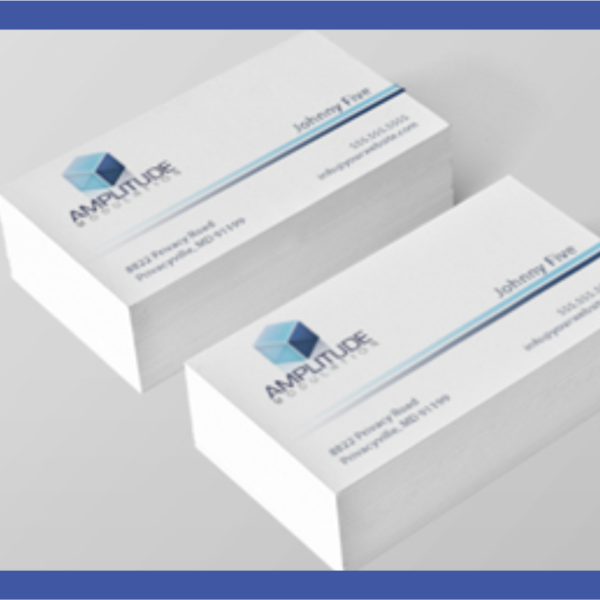 One sided business card lasprint nigeria one sided business card reheart Images