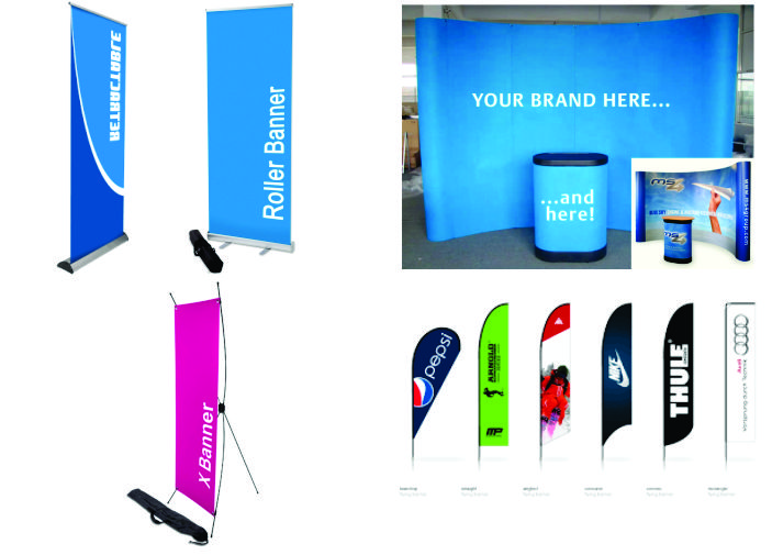Digital display banners in Lagos