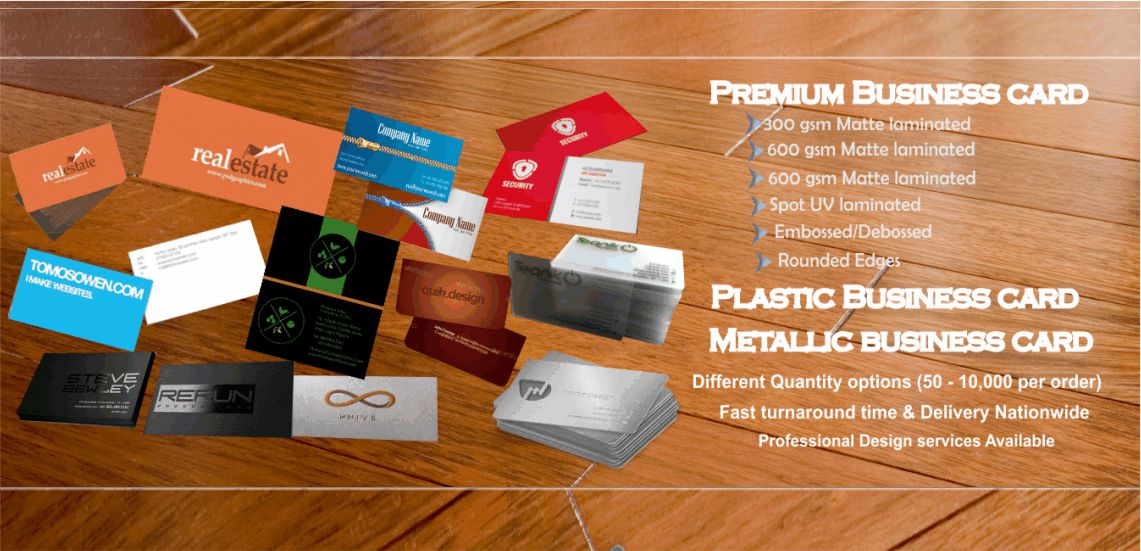 Business card printing company in Lagos