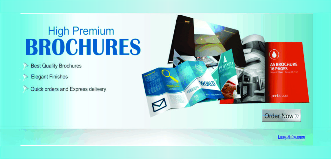 Company Brochure printing in Lagos
