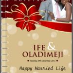 Wedding notepads in Lagos