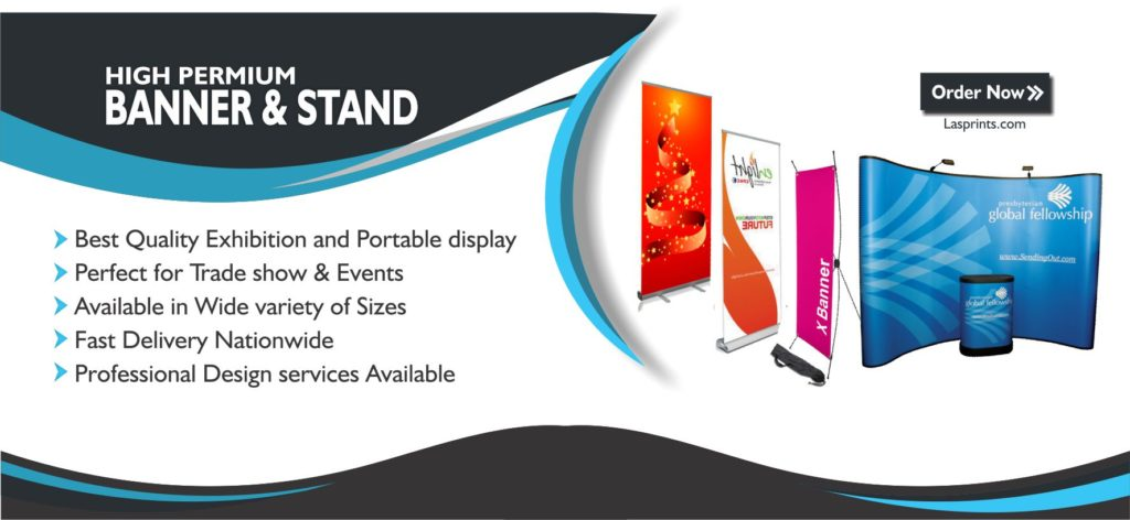 Digital banners and stands